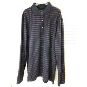 NWT Ralph Lauren Mesh Long-Sleeve Polo Shirt